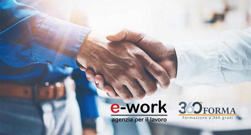 360 Forma e E-Work: binomio formazione e offerta lavoro
