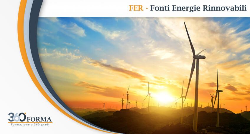 Corso FER – Fonti Energie Rinnovabili: aggiornamento obbligatorio entro il 31/12